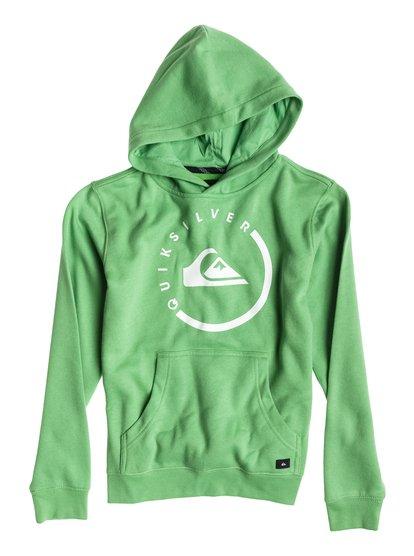 Green Surfer Hoodie - Quicksilver