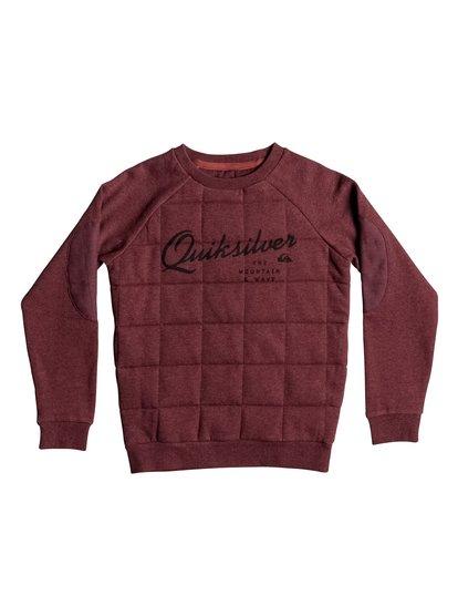 Happy Myth - Quilted Sweatshirt  EQBFT03229