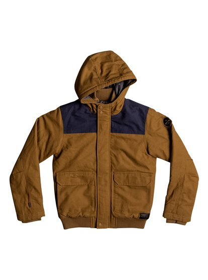Brooks Island DWR - Water-Repellent Hooded Bomber Jacket  EQBJK03125
