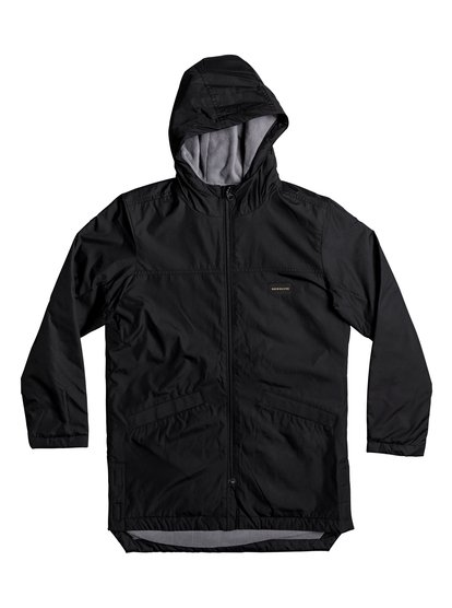 Perka - Water-Repellent Longline Windbreaker  EQBJK03130