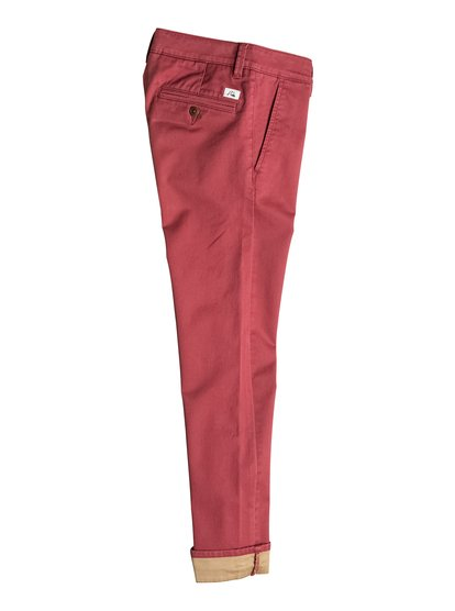 Boy's Krandy Straight Fit Block Chinos