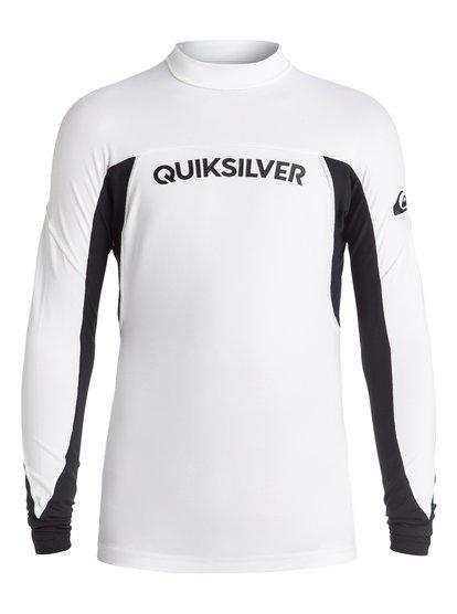 Quiksilver Performer - Long Sleeve Rash Vest for Boys - White - Quiksilver