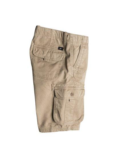 Boys Deluxe ShortsШорты для мальчиков Deluxe от Quiksilver.ХАРАКТЕРИСТИКИ: карманы-карго, стандартный крой, длина – 48,3 см (19), пояс с регулировкой.СОСТАВ: 100% хлопок.<br>