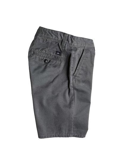 Boys Everyday Chino ShortsШорты для мальчиков Everyday Chino от Quiksilver. <br>ХАРАКТЕРИСТИКИ: длина – 43,2 см (17), фасон «чино», стандартный крой, стопроцентная хлопчатобумажная саржа. <br>СОСТАВ: 100% хлопок.<br>