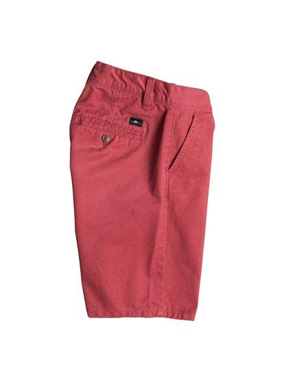 Boys Everyday Chino ShortsШорты для мальчиков Everyday Chino от Quiksilver.ХАРАКТЕРИСТИКИ: длина – 43,2 см (17), фасон «чино», стандартный крой, стопроцентная хлопчатобумажная саржа.СОСТАВ: 100% хлопок.<br>