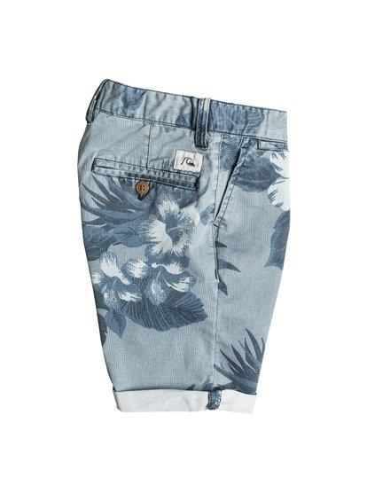Boys Krandy Havana ShortsШорты для мальчиков Krandy Havana от Quiksilver.ХАРАКТЕРИСТИКИ: ткань «чино», пояс с регулировкой, прямые и зауженные к краям штанины, длина – 43,2 см (17).СОСТАВ: 98% хлопок, 2% эластан.<br>