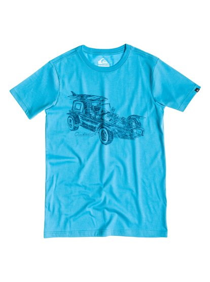 Blue Surfer Tee - Quicksilver