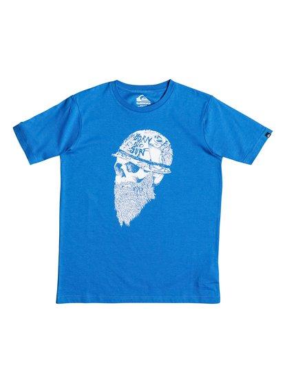Classic Born To Surf - T-shirt pour garçon - Bleu - Quiksilver
