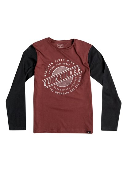 Colorblock Full Moon - Long Sleeve T-Shirt  EQBZT03365