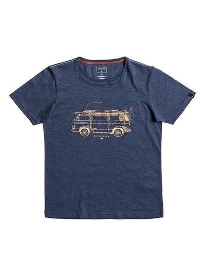 Happy Van Slub - T-Shirt  EQBZT03587