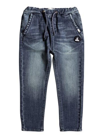 Last Jungle Sky - Straight Fit Jeans  EQKDP03068