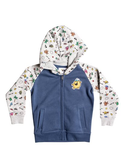 Mr Men Ed - Zip-Up Hoodie  EQKFT03212
