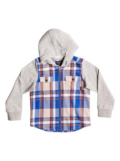 Bakye - Hooded Long Sleeve Shirt  EQKFT03222