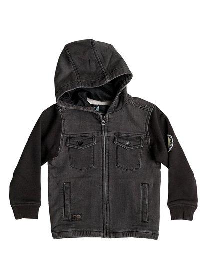 Selfeet - Denim Jersey Jacket  EQKJK03069
