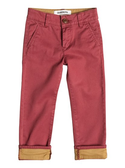 Krandy Straight Fit Block - Chinos  EQKNP03024
