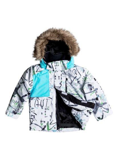 Сноубордическая куртка Flakes от Quiksilver RU