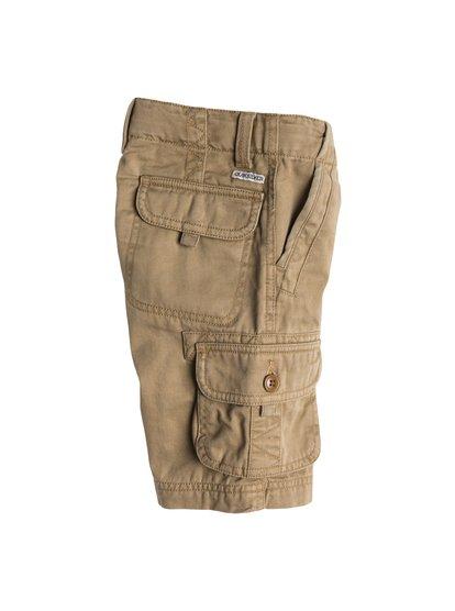 The Deluxe Short Aw BoyШорты-карго для мальчиков от Quiksilver – новинка из коллекции Весна 2015. Характеристики: стандартный крой, мягкая саржа средней плотности, 6 карманов.<br>