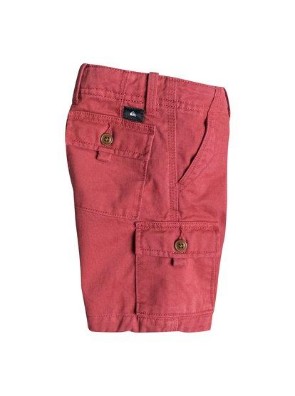 Boys Everyday Cargo ShortsШорты для мальчиков Everyday Cargo от Quiksilver.ХАРАКТЕРИСТИКИ: фасон «карго», длина 33 см, стандартный крой, шесть карманов.СОСТАВ: 100% хлопок.<br>