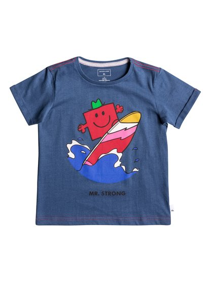 Mr Strong Classic - Super-Soft Short Sleeve T-Shirt  EQKZT03119