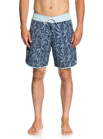 Waterman Mana Scallop 19  - Boardshort pour Homme - Bleu - Quiksilver