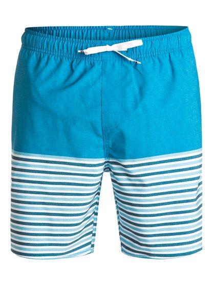 "Waterman Breezy Stripe 18"" - Swim Shorts  EQMJV03005"