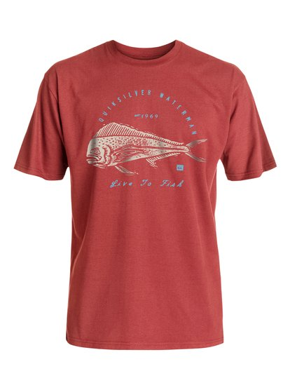 Waterman Live To Fish - T-Shirt  EQMZT03017