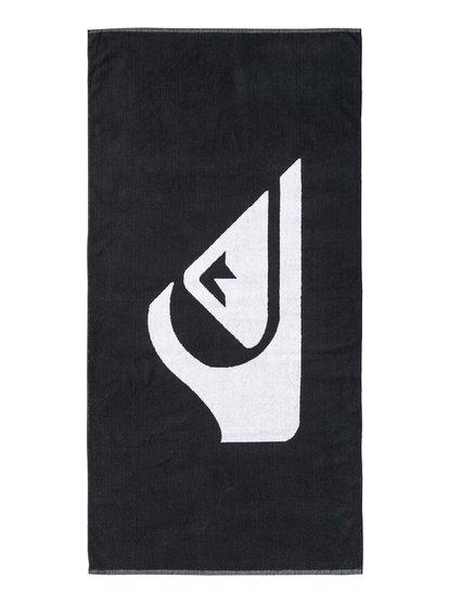 Woven Logo - Serviette de plage pour Homme - Noir - Quiksilver