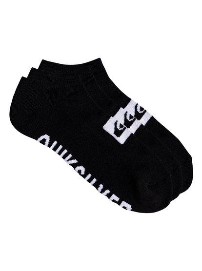 Quiksilver - chaussettes courtes pour homme - noir - quiksilver