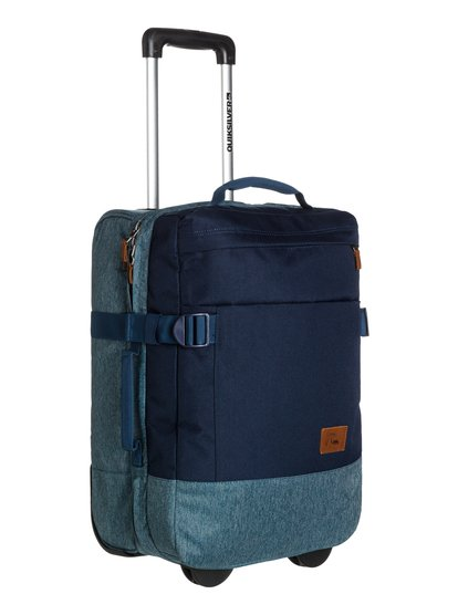 Quiksilver Men's Short Delay Wheeled Suitcase