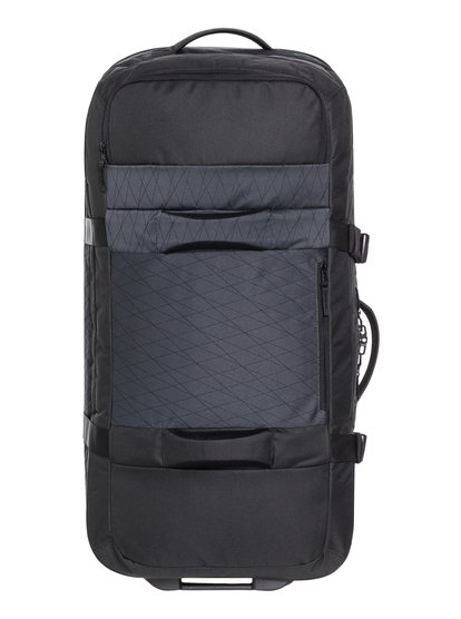 New Reach 100l - grande valise à roulettes pour homme - noir - quiksilver