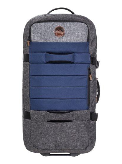 New Reach 100l - grande valise à roulettes pour homme - bleu - quiksilver