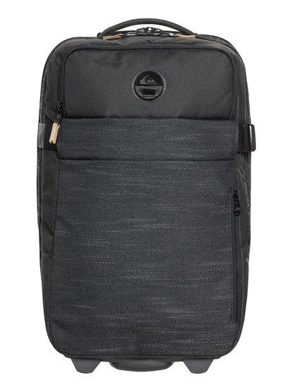 New Horizon 32l - bagage cabine à roulettes - noir - quiksilver