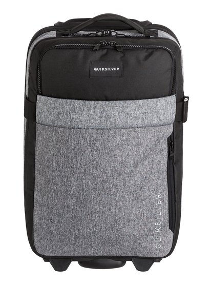 New Horizon - bagage cabine à roulettes pour homme - gris - quiksilver