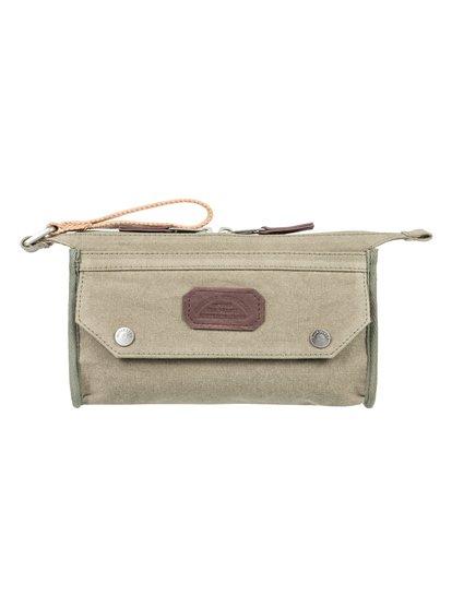 Chamber Premium 2l - pochette zippée - marron - quiksilver