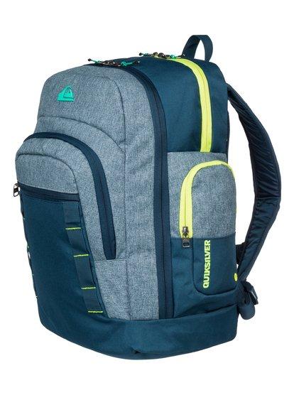 Mens Clampdown BackpackМужской рюкзак Clampdown от Quiksilver. <br>ХАРАКТЕРИСТИКИ: размер – 45 x 34 x 20,5 см, объем – 37 л, два основных отделения на молнии. <br>СОСТАВ: 100% полиэстер.<br>