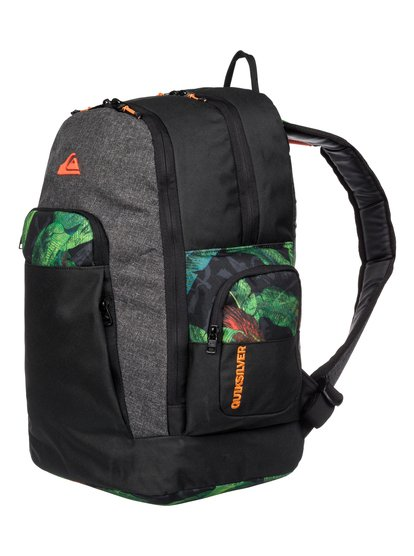 Mens 1969 Special BackpackМужской рюкзак 1969 Special от Quiksilver. <br>ХАРАКТЕРИСТИКИ: полиэстер 600D, размер – 46 x 34 x 21 см, объем – 35 л. <br>СОСТАВ: 100% полиэстер.<br>