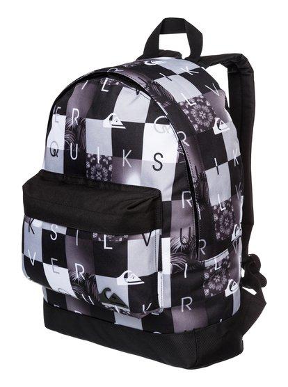 Mens Everyday Poster BackpackEveryday Poster Мужской рюкзак от Quiksilver. <br>ХАРАКТЕРИСТИКИ: полиэстер 600D, размер – 41 x 32 x 12 см, объем – 16 л. <br>СОСТАВ: 100% полиэстер.<br>