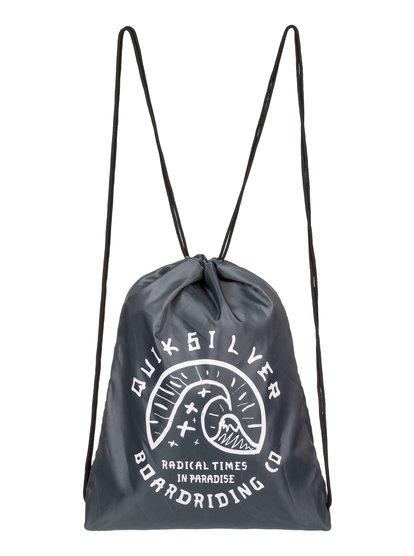 Acai - sac à dos avec cordon de serrage pour homme - bleu - quiksilver
