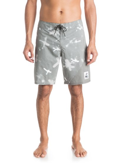 "Quiksilver New Wave Markings 19"" Boardshorts"