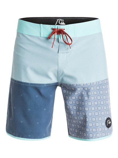 "Quad Block 18"" - Board Shorts  EQYBS03284"