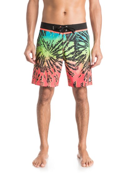"Quiksilver Men's Glitched 18"" Boardshorts"