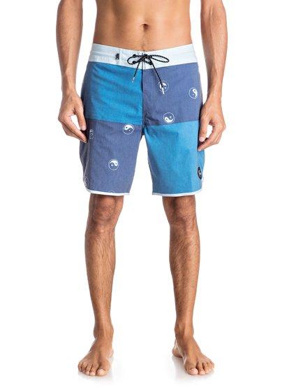 Пляжные шорты Quad Block 18