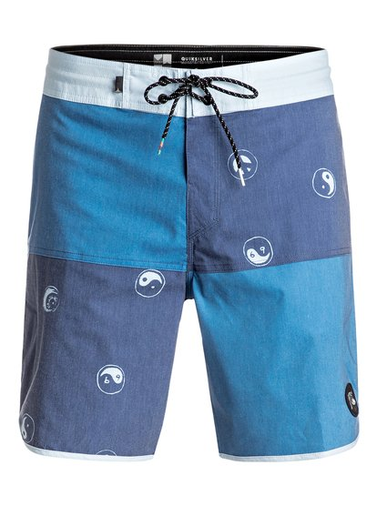 "Quad Block 18"" - Beachshorts  EQYBS03624"