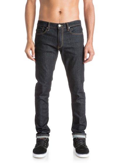Distorsion Rinse 32 Slim Fit JeansУзкие мужские джинсы Distorsion Rinse 32 от Quiksilver.ХАРАКТЕРИСТИКИ: классические пять карманов, ширинка на молнии, эластичная хлопчатобумажная ткань, мягкий деним средней плотности 315 г/кв. м.СОСТАВ: 98% хлопок, 2% эластан.<br>