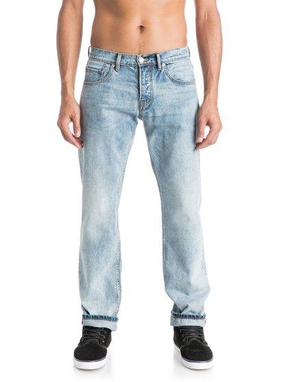Sequel Dustbowl 32 Regular Fit JeansСтандартные мужские джинсы Sequel Dustbowl 32 от Quiksilver.ХАРАКТЕРИСТИКИ: классические пять карманов, ширинка на пуговицах, хлопчатобумажная ткань, мягкий деним плотностью 298 г/кв. м.СОСТАВ: 100% хлопок.<br>
