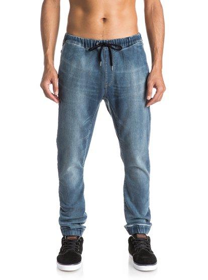 Узкие мужские джинсы Fonic Denim FleeceУзкие мужские джинсы Fonic Denim Fleece от Quiksilver.ХАРАКТЕРИСТИКИ: эластичный пояс и края штанин, клиновидная вставка-ластовица, мягкость аналогичная трикотажу, мягкий деним плотностью 255 г/кв. м.СОСТАВ: 83% хлопок, 15% полиэстер, 2% эластан.<br>