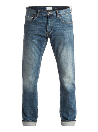 "Revolver Medium Blue 32"" - Straight Fit Jeans  EQYDP03223"