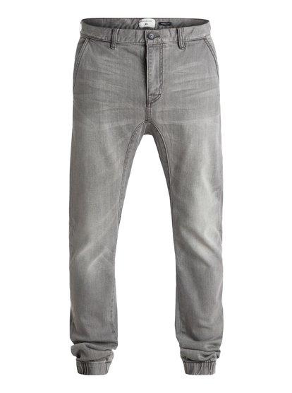 "Fonic Fix Used Grey 32"" - Denim Joggers  EQYDP03227"
