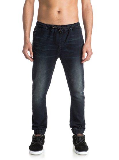Узкие джинсы джоггеры Fonic Dark Blue