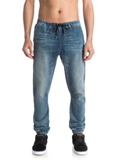 Узкие джинсы джоггеры Fonic Stormy Blue<br>